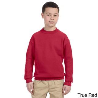 Youth Super Sweats NuBlend Fleece Long Sleeve T-shirt