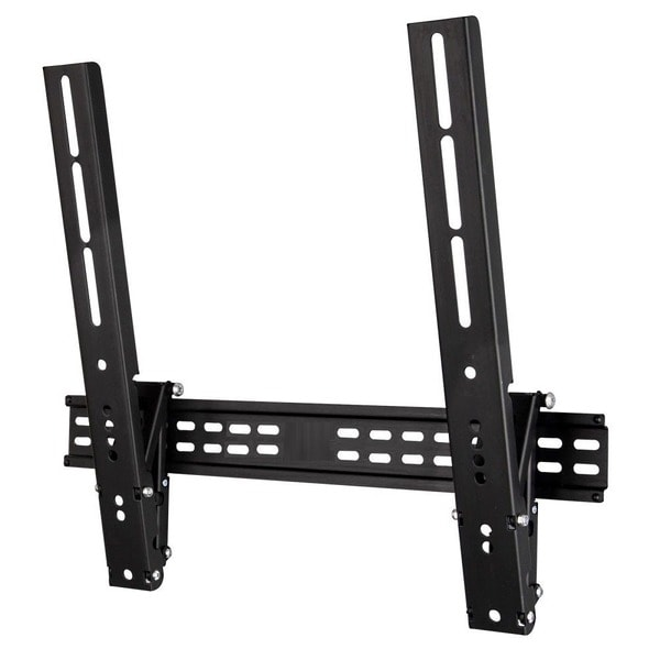 Mount-It! Black, Steel Heavy-Duty Tilt TV Wall Mount with Super Low Profile for 23 - 52-inch LCD/ LED Plasma TV Screens