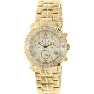 Swiss Precimax Women's SP13324 'Tribeca Elite' Goldtone Watch