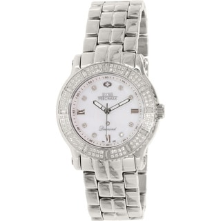 Swiss Precimax Women's SP13327 'Tribeca Diamond' Mother of Pearl Dial Watch