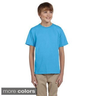 Fruit of the Loom Youth Boy's Heavy Cotton HD T-Shirt (5 options available)