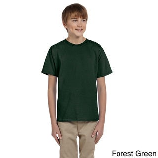 Youth Boy's HiDENSI-T Cotton T-shirt