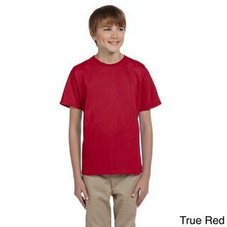 Youth Boy's HiDENSI-T Cotton T-shirt