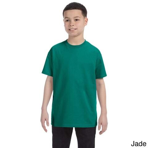 Youth Boy's Heavyweight Blend T-shirt