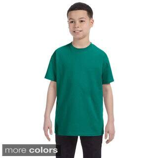 Youth Boy's Heavyweight Blend T-shirt|https://ak1.ostkcdn.com/images/products/9116354/Youth-Boys-Heavyweight-Blend-T-shirt-P16301364.jpg?impolicy=medium