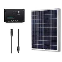 Renogy 100-Watt Solar Panel Starter Bundle Kit