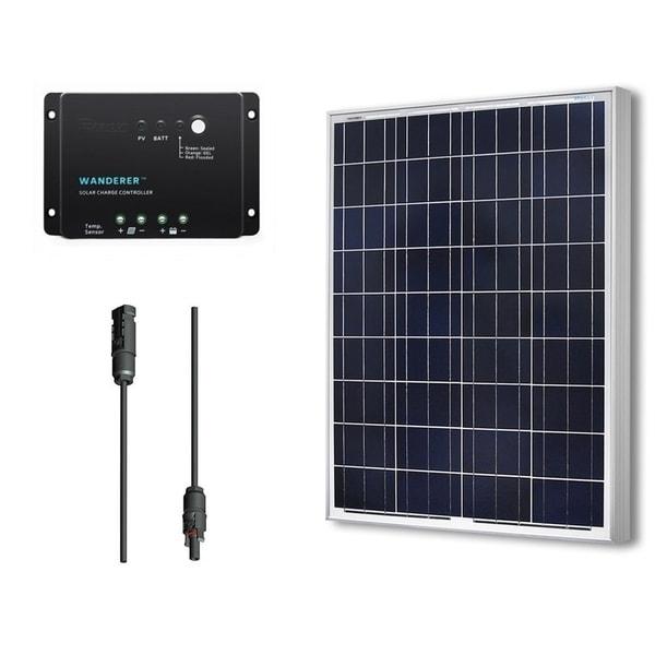 Renogy 100-Watt Solar Panel Starter Bundle Kit