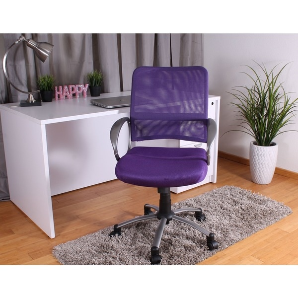 shop boss adjustable breatheable mesh task chair free shipping