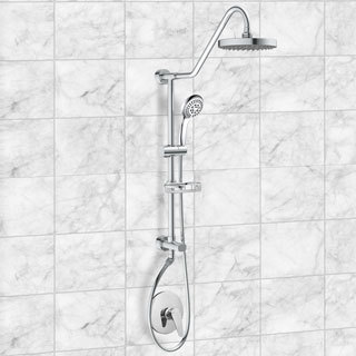 Pulse Kauai II Rain Shower System (Option: Brushed)