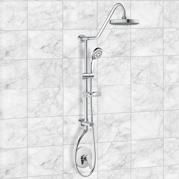 Pulse ShowerSpa Pulse Kauai II Brushed Brass And ABS Rain Shower System