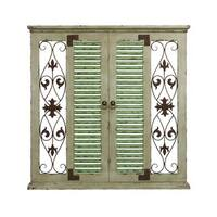 Studio 350 Wood Metal Wall Decor 40 inches high, 40 inches wide