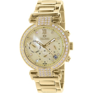 Precimax Women's PX13339 'Siren Elite' Goldtone Quartz Watch