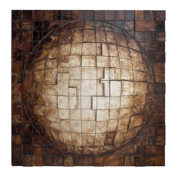 Contemporary Wood Wall Decor Free Shipping Today