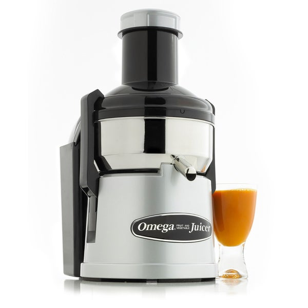 Omega BMJ330 Commercial Stainless-Steel Pulp-Ejection Juicer (Refurbished)