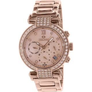 Precimax Women's PX13338 'Siren Elite' Rose Goldtone Watch