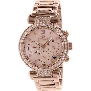 Precimax Women's PX13338 'Siren Elite' Rose Goldtone Watch|https://ak1.ostkcdn.com/images/products/9116451/P16301439.jpg?impolicy=medium