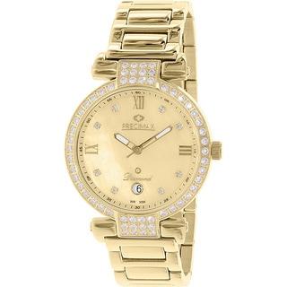 Precimax Women's PX13334 'Siren Diamond' Goldtone Watch