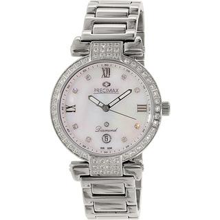 Precimax Women's PX13332 'Siren Diamond' Stainless Steel Watch