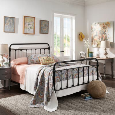 Buy Black, French Country Beds Online at Overstock | Our ...