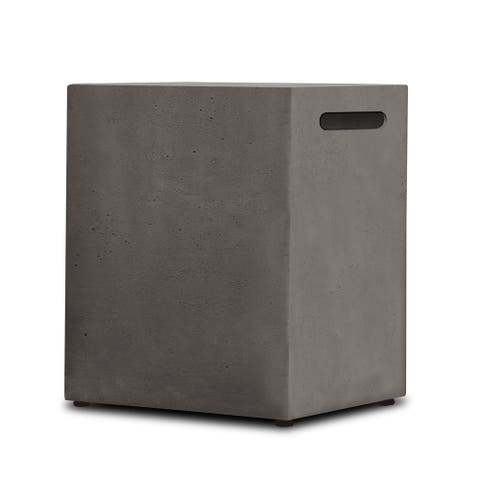 Baltic Glacier Grey LP Tank Cover by Real Flame