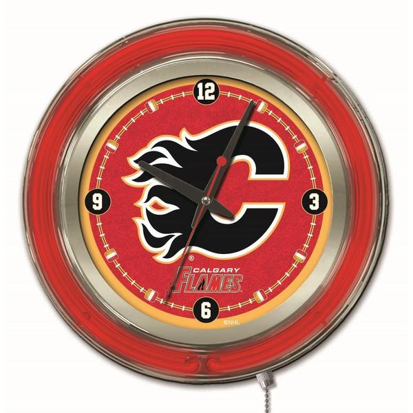 Holland Canadian NHL Logo Clocks