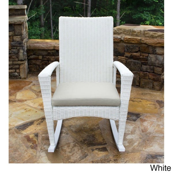 Tortuga Outdoor Bayview Rocking Chair   Free Shipping Today   Overstock.com    16301514