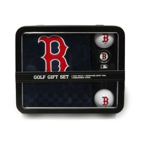 MLB Boston Red Sox Golf Gift Set