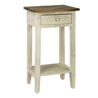 Antique Revival Avignon Wood Side Table