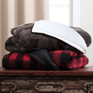 CozyClouds by DownLinens Down-filled Extra Warmth Throw