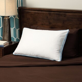CozyClouds by DownLinens Feather and Down Compartment Pillow - White (3 options available)
