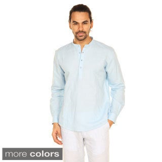 In-Sattva Anita Dongre Men's Mandarin Collar Pullover Tunic (India)
