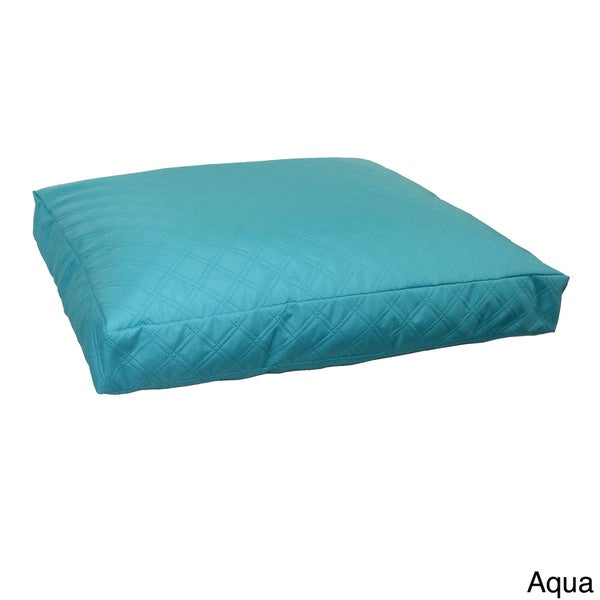 Double Diamond Pattern Rectangle Pet Bed