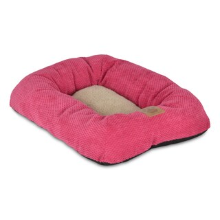 SnooZZy Fuchsia Rectangle Bolster Pet Bed