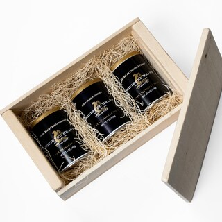 igourmet Gourmet Black Label Nuts Wooden Gift Crate