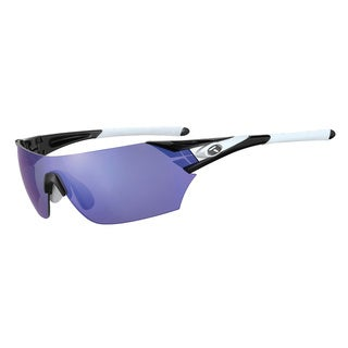 Tifosi Podium Black/ White Interchangeable Sunglasses