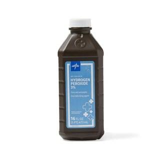 Medline 3-percent USP Hydrogen Peroxide 16-ounce Bottle