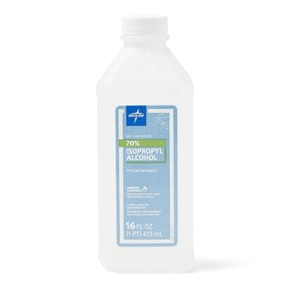 Medline 70-percent Isopropyl Rubbing Alcohol 16-ounce Bottle (Case of 12)