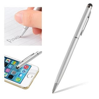 INSTEN 2-in-1 Capacitive Stylus for Tablet iPad Apple iPhone 4S/ 5S/ 6 Android|https://ak1.ostkcdn.com/images/products/9117872/P16302536.jpg?impolicy=medium
