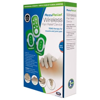 AccuRelief Wireless Remote Control TENS Electrotherapy Pain Relief Unit