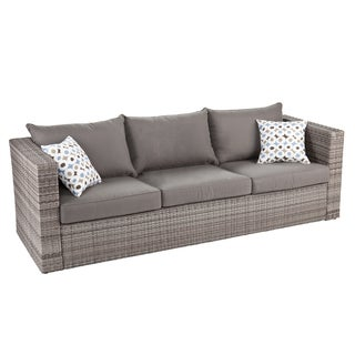 Harper Blvd Brixton Outdoor Wicker Sofa