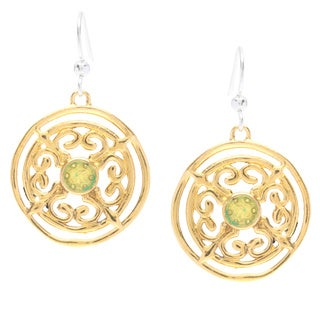 Captiva Day Medallion Earrings