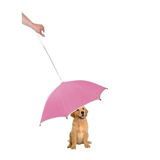 Pet Life Pour-Protection PVC Reflective Strip Umbrella