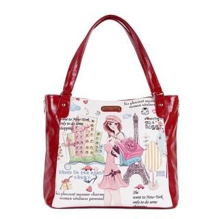 Nicole Lee 'Shopping Girl' Shopper Bag