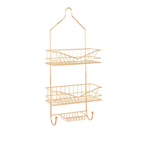 Sunrise Rose Gold Shower Caddy