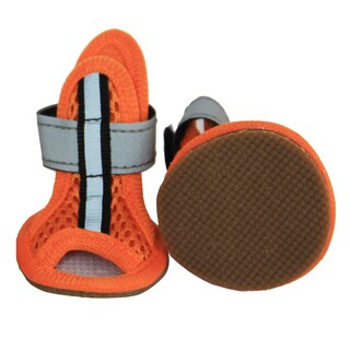 Pet Life Sporty Supportive Mesh Pet Sandals (Set of 4)