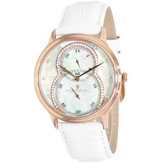 Christian Van Sant Women's Infinie White Watch