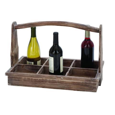 The Gray Barn Jartop Wine Bottle Basket