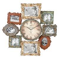 Maison Rouge Lamartine Metal Clock Photo Frame