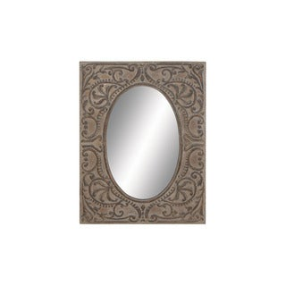 Square Frame Metal Mirror