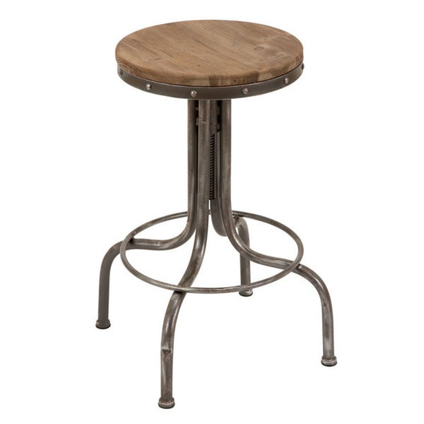 Metal Wood Bar Stool Free Shipping Today Overstock Com